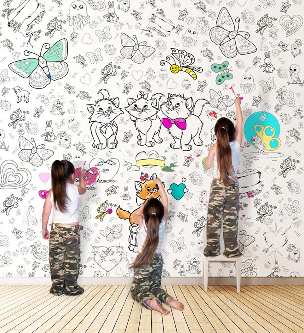 NishArt ile çocuklar duvarlarını özgürce boyayabiliyorlar 98