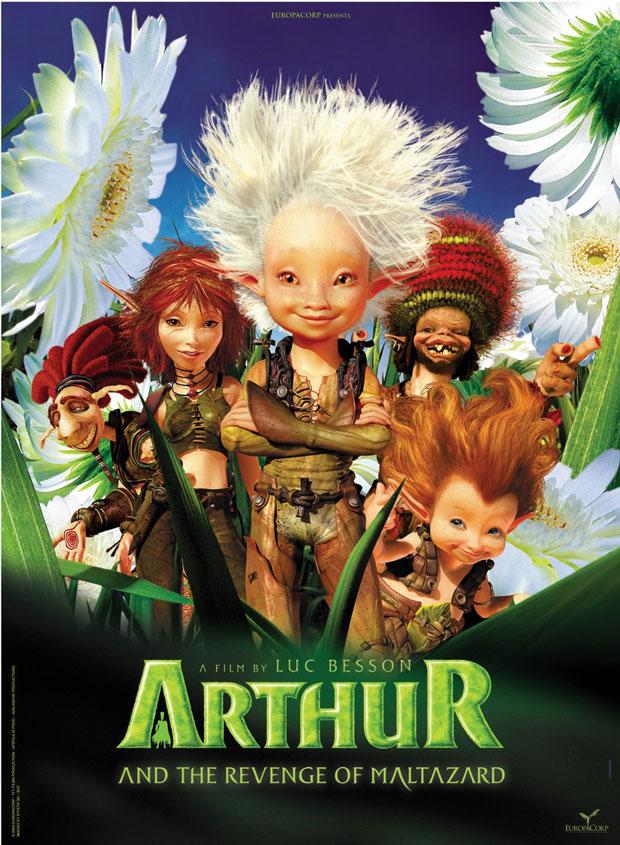 Arthur 09 Poster - Arthur And The Vengeance Of Maltazard