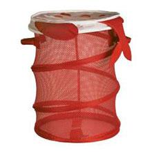 Koral Saklama Sepeti - Kırmızı