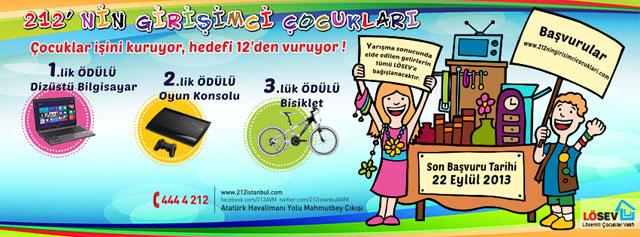 212'nin Girişimci Çocukları Yarışması