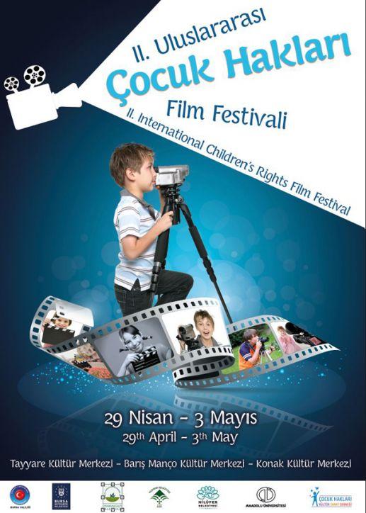 2. Uluslararası Çocuk Hakları Film Festivali, Bursa'da Başladı