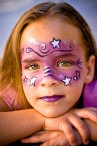 Cadılar Bayramına özel Yüz Boyama Alternatifleri Cicicee