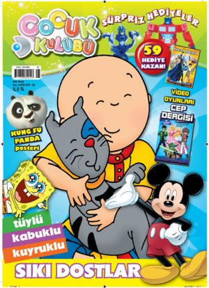 Çocuk Kulübü Dergisi Sayıları