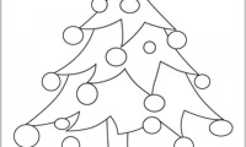 çam Ağacı Boyama Cicicee