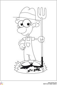 çiftçi Boyama Cicicee