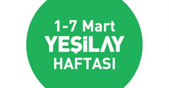 1-7 Mart Yeşilay Haftası