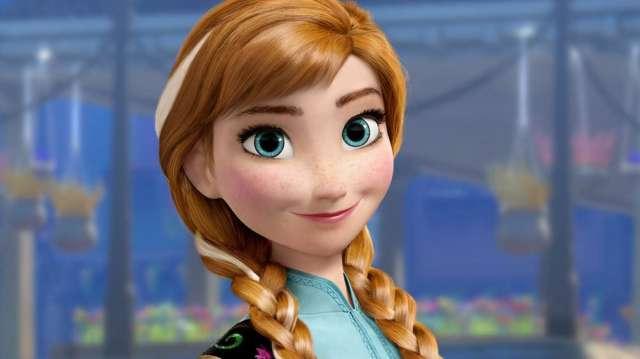 Karlar Ülkesi Frozen Karakterleri Anna