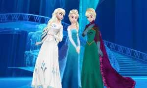 Karlar Ülkesi Frozen Karakterleri
