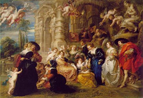 Garden of Love Peter Paul Rubens