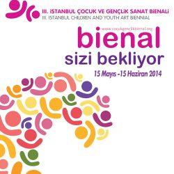 3. İstanbul Çocuk ve Gençlik Sanat Bienali afişi