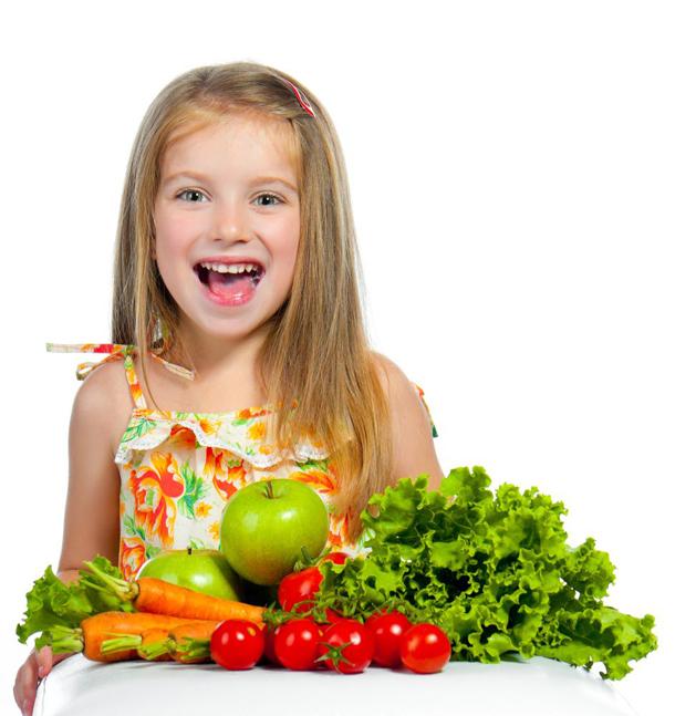 Çocuklar Sebze Yemeli