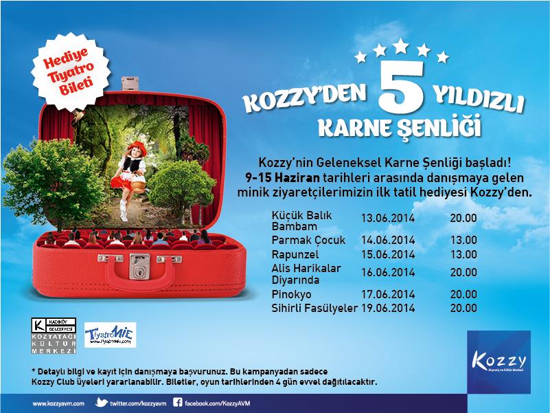Kozzy AVM'de Yaz Tatili Tiyatro Şenliği ile Başlıyor 73