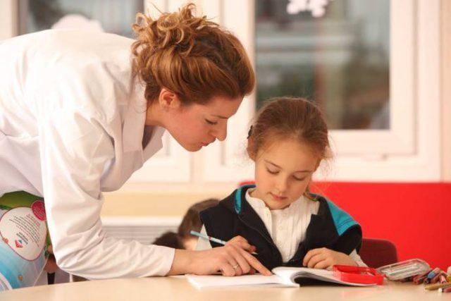 Öğretmen ve Çocuk