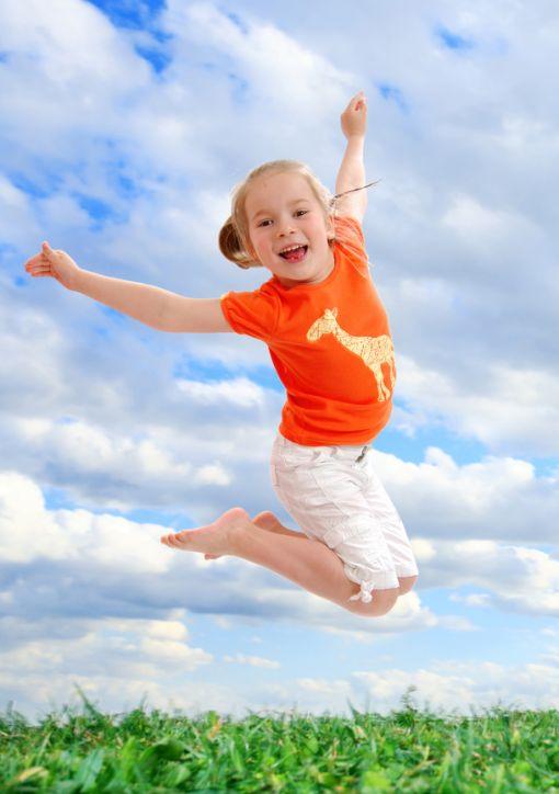 Zıplayan Çocuk