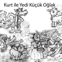 Kurt ve Yedi küçük keçi yavrusu