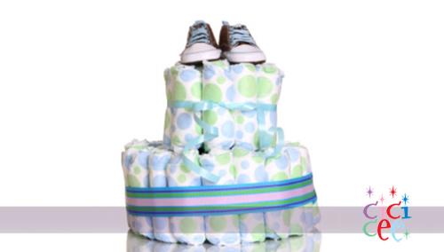 Bebek Bezinden Pasta Yapımı