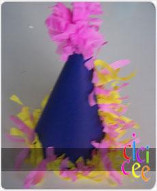 Parti Şapkası Yapımı