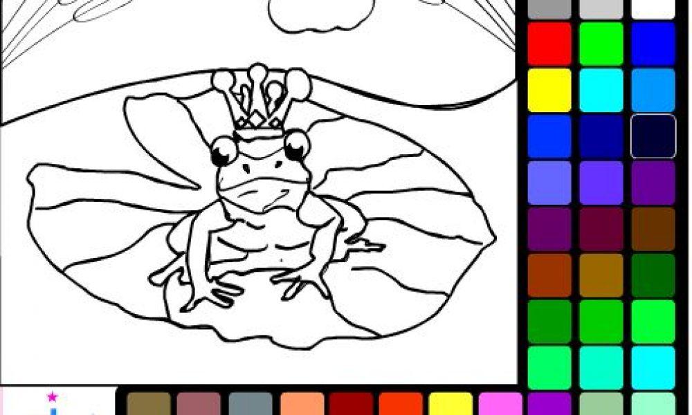 Kurbağa Prens Boyama Cicicee