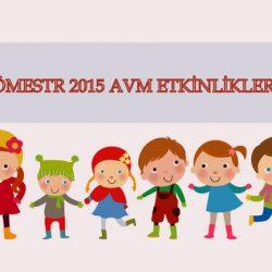 Sömestr 2015 AVM Etkinlikleri
