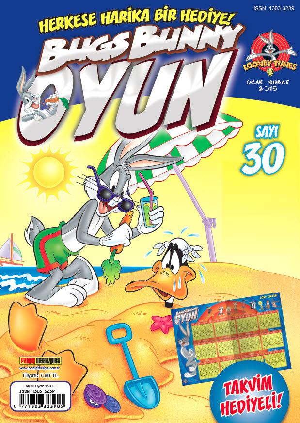 bugs bunny oyun çocuk dergisi