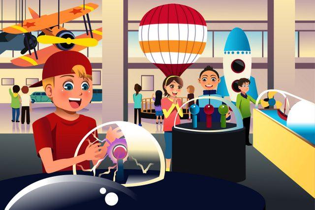 Çocuklar için Bilim Müzeleri