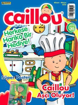 caillou dergisi nisan sayisi
