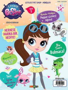 Littlest Petshop Dergisi Nisan Sayisi