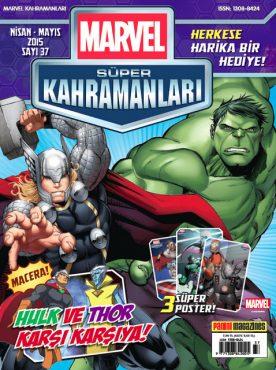 Marvel Süper Kahramanlar Nisan Mayıs Sayısı