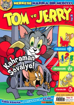 Tom ve Jerry Dergisi Nisan Mayıs Haziran sayısı