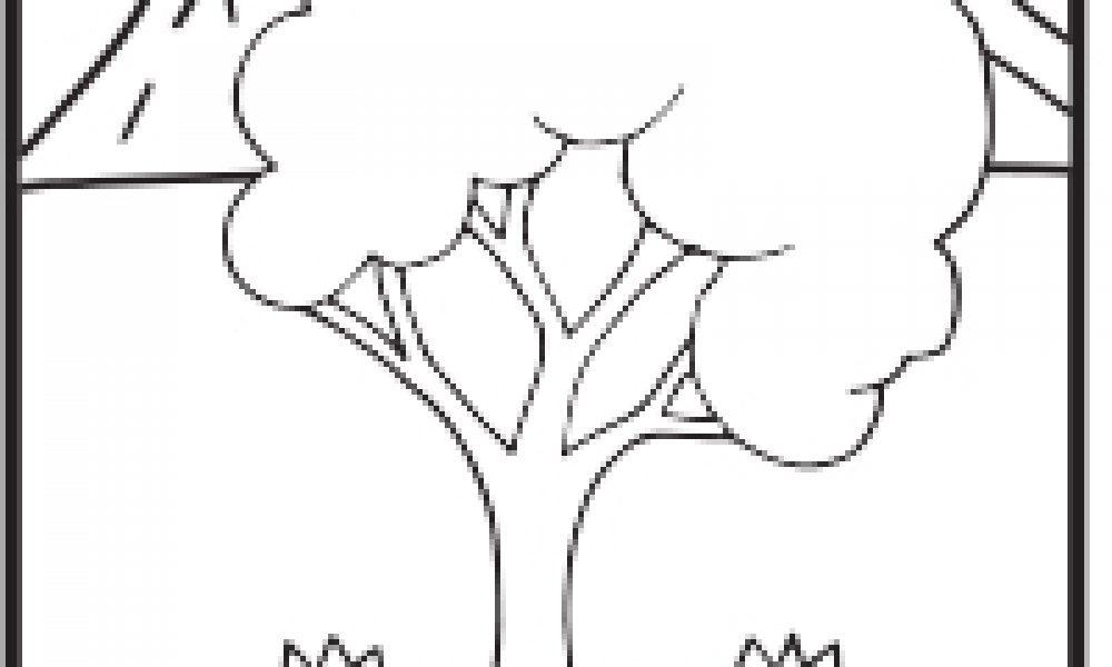 Ağaç Boyama çocuklar Için Boyama Sayfaları Cicicee