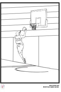 Basketbol Boyama çocuklar Için Boyama Sayfaları Cicicee