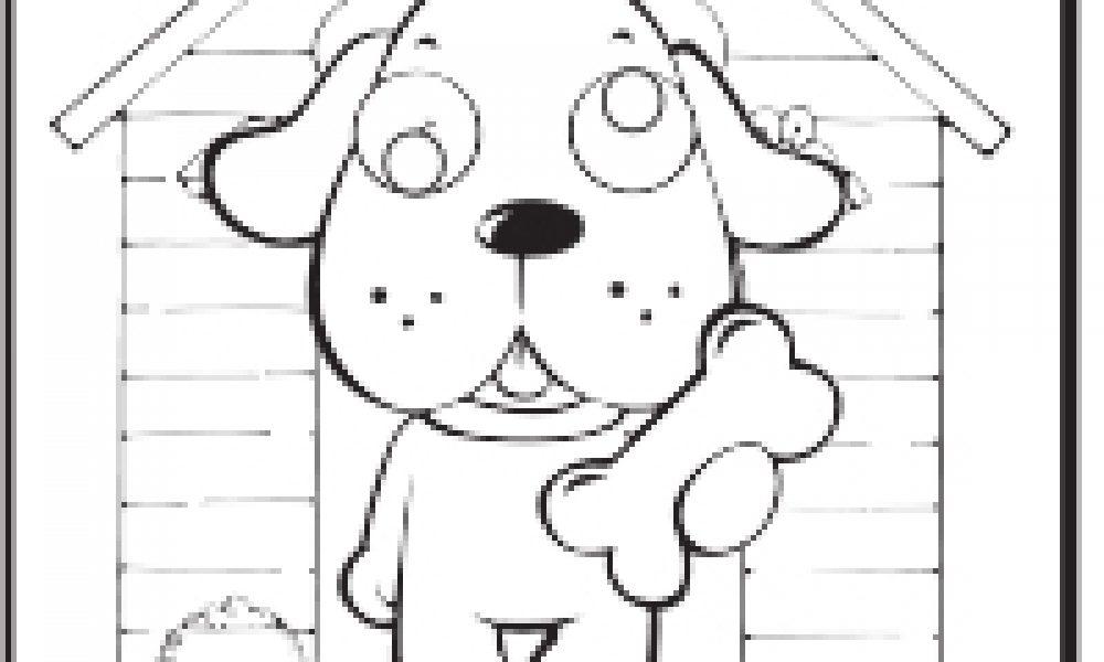 şaşkın Köpek Boyama çocuklar Için Boyama Sayfaları Cicicee