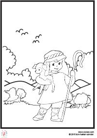 Kuzulu Kız Boyama çocuklar Için Boyama Sayfaları Cicicee