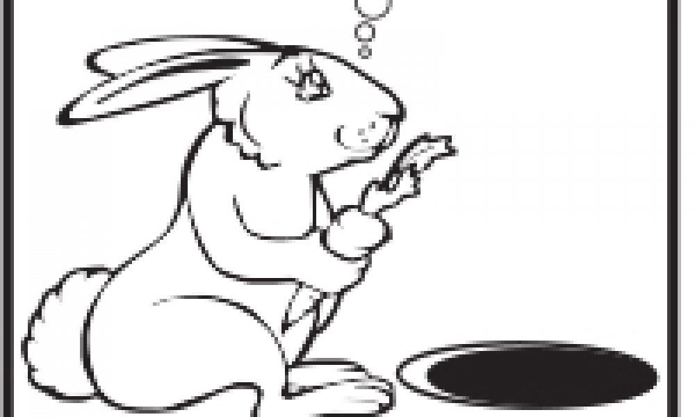 Hayalci Tavşan Boyama çocuklar Için Boyama Sayfaları Cicicee