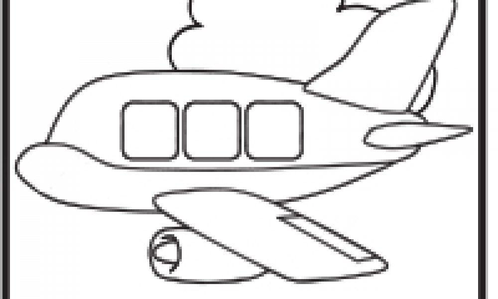 Uçak Boyama çocuklar Için Boyama Sayfaları Cicicee
