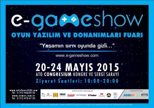 E-Gameshow 20-24 Mayıs'ta Ankara'da Gerçekleşecek 81