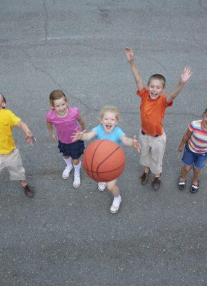 Spor Yapan Çocuklar
