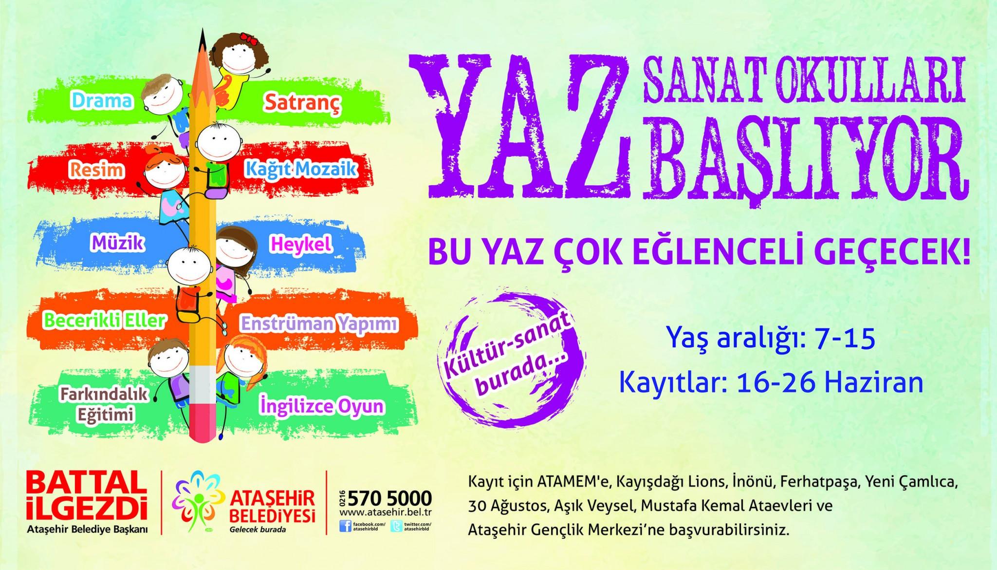 İstanbul Ücretsiz Yaz Okulları 2015 83