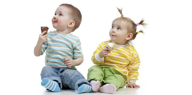 bebekler dondurma yiyebilir mi
