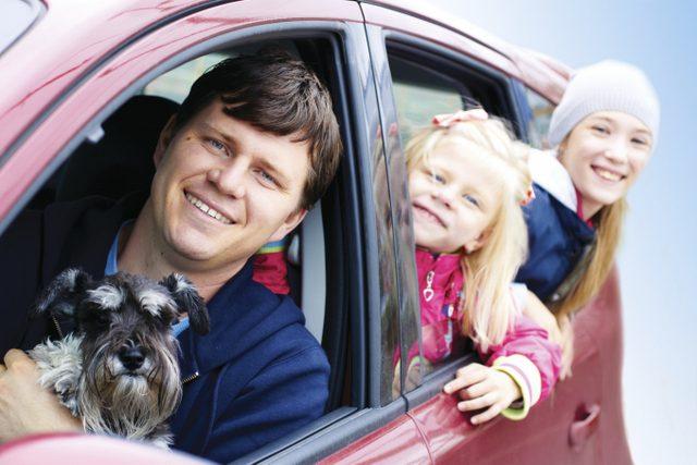 Çocukla Araba Yolculuğu