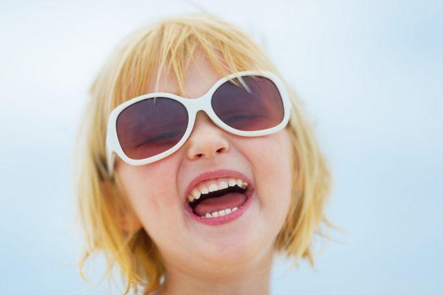 Çocukların Güneş Gözlüğü