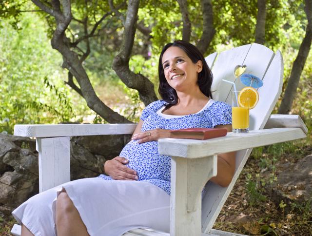 Ездить отдыхать при беременности