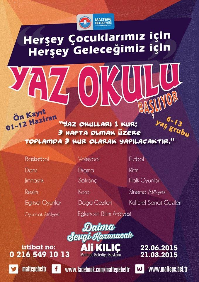 İstanbul Ücretsiz Yaz Okulları 2015 36