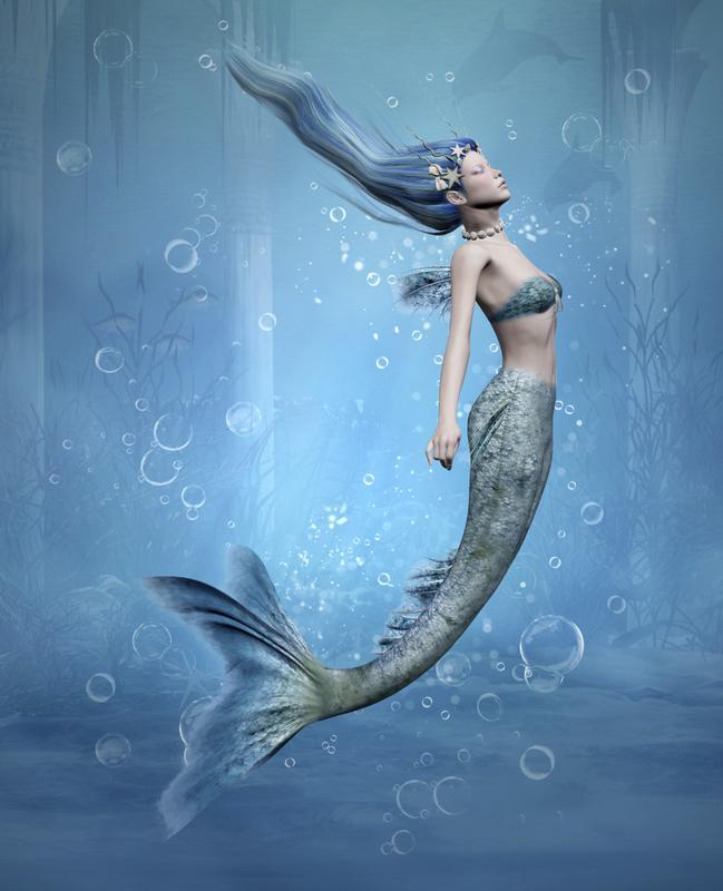 Deniz Kızı Resimleri Gerçekl - Cicicee
