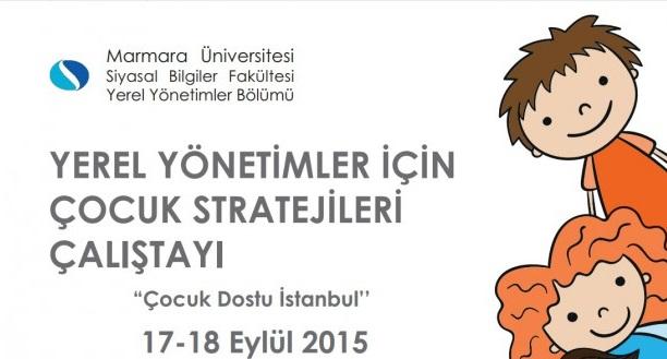 Yerel Çocuk Stratejileri Çalıştayı Eylül'de Yapılacak 90