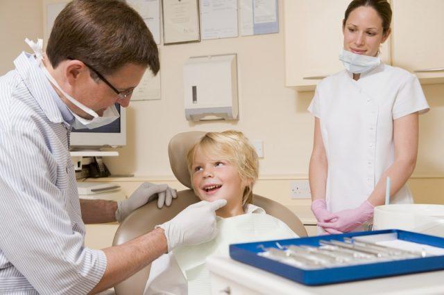 Çocuklarda Diş Kontrolü
