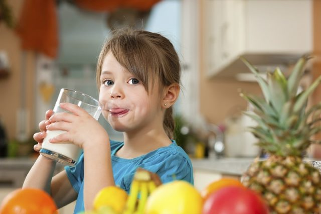 Sütün Çocuklara Faydaları