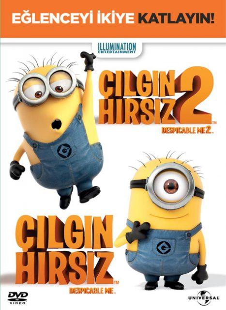 Çılgın Hırsız 2 Çocuk Filmleri DVD'leri