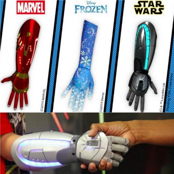 Disney, Süper Kahraman Kollarını, Çocuk Protezlerine Uyarlayacak 71