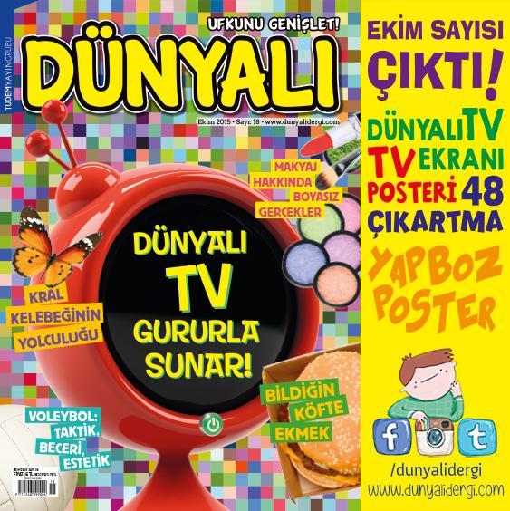 Dünyalı Dergi 2015 Ekim